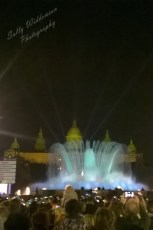 Font magica Montjuic Barcelona at night New Years eve 2014