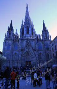 Cathedral of Barcelona Barri Gotica Old Town Gothic Quarter