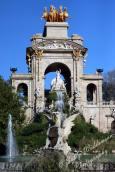 fountain cascada in parc de la ciutadella, Barcelona