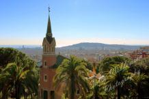 Gaudi's House Park Guell, Barcelona