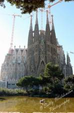 Basilica de la Sagrada Familia East Nativity Facade Barcelona Spain