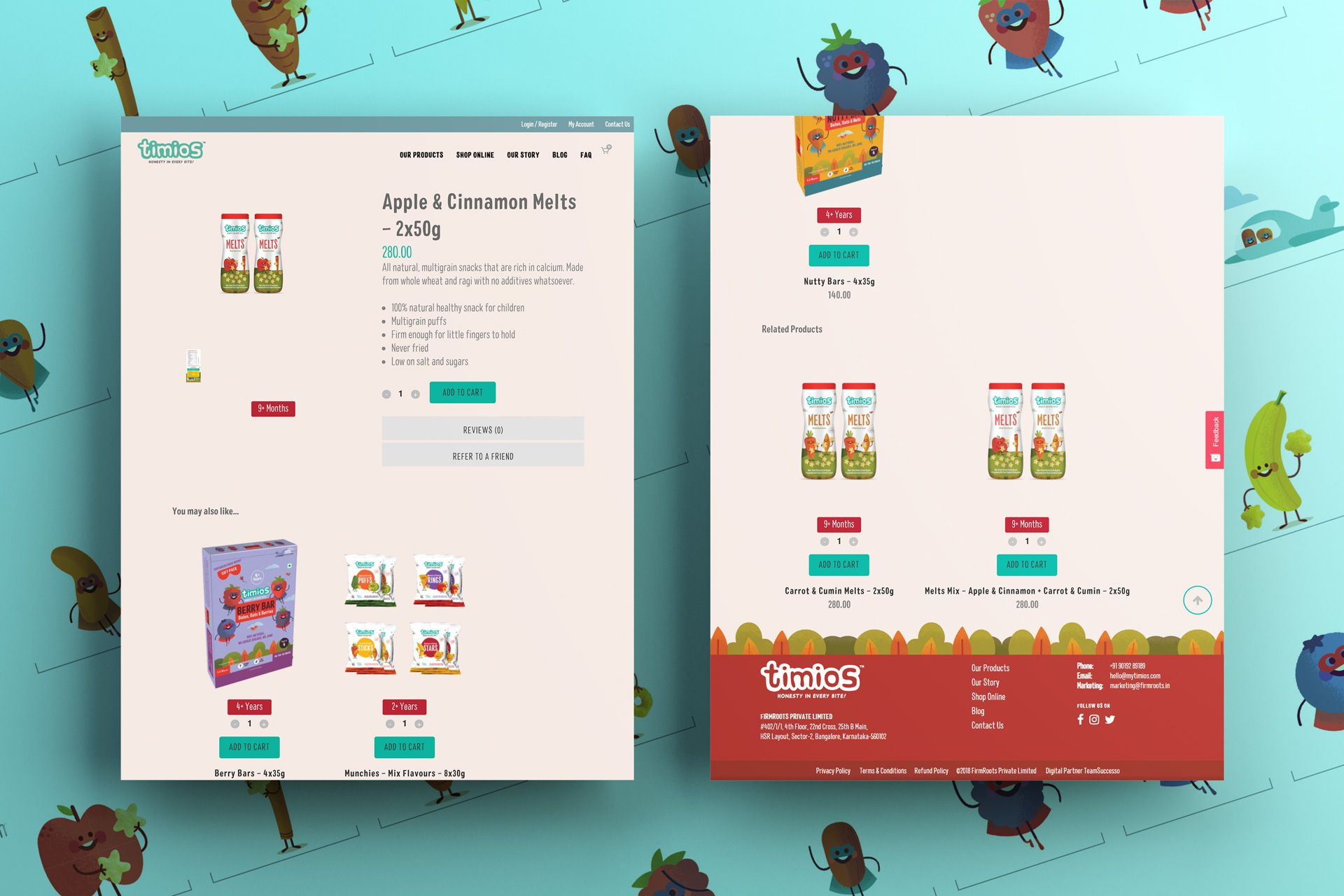 timios Website Screens Mockup – Salman-Ravoof – Product page