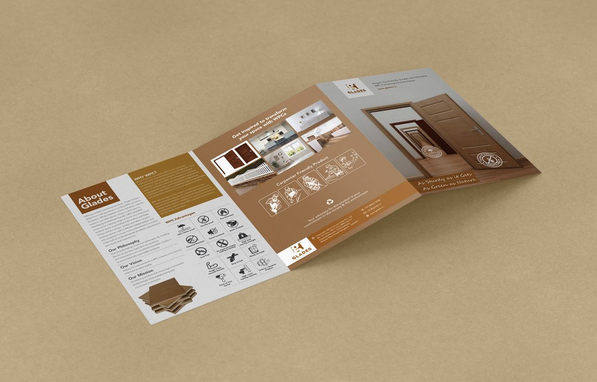 Mockup of Glades Brochure Inner Pages by Salman Ravoof