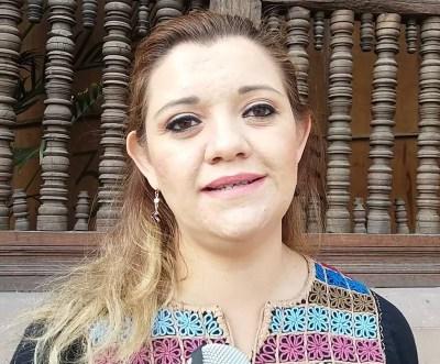Regidora Gabriela Ledesma García Pdta. de la Comisión de Seguridad Pública y Tránsito.