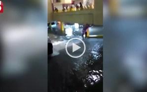 inundación león