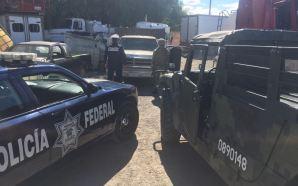 POLICÍA FEDERAL ASEGURA HIDROCARBURO DE PROCEDENCIA ILÍCITA