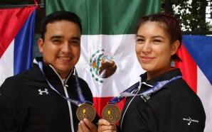 Oro para México con la salmantina Goretti Zumaya y José…