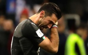 Italia se queda fuera del mundia / Llora Buffon por…
