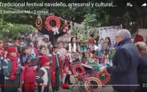 ESCUELAS DE PREESCOLAR Y PRIMARIA PRESENTAN TRADICIONAL FESTIVAL NAVIDEÑO