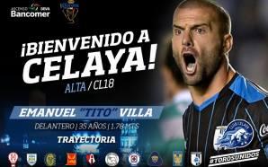 """Llega """"Tito"""" Villa a Toros de Club Celaya y se…"""