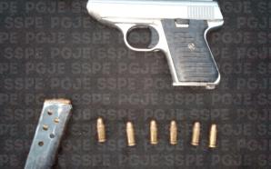 POLICIA ESTATAL DETIENE A SUJETO CON ARMA DE FUEGO EN…