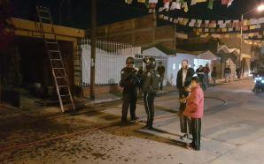 ALARMA INCENDIO EN COLONIA SAN GONZALO