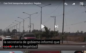 CIRCULAN 5 MIL DE SERVICIO EJECUTIVO EN LA ILEGALIDAD
