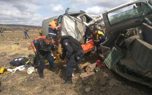 Tres personas fallecidas y una lesionada saldo de choque en…