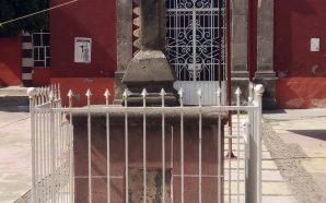Cruz de Tequitqui en Salamanca.