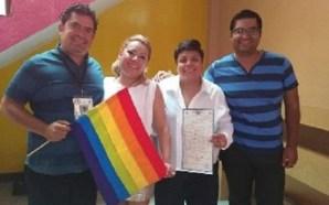 SE CELEBRA EL PRIMER MATRIMONIO GAY ENTRE DOS MUJERES LESBIANAS…