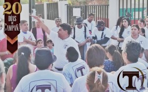 A 20 días de haber iniciado campaña electoral, Tomás Gutiérrez…