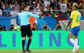 Brasil se queja del arbitraje mexicano en el Mundial