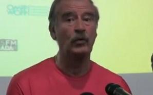 Vicente Fox no quiere quedarse sin pensión