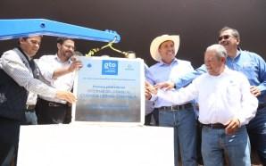 Colocan primera piedra de las oficinas del Consejo Cuenca Lerma-Chapala