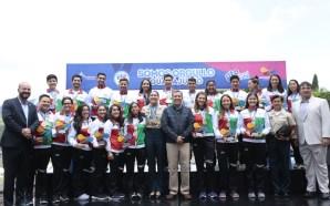 Reconoce el Gobernador a los deportistas y entrenadores que representaron…