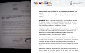Protección Civil Municipal invita a no hacer caso de información…