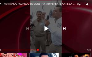 FERNANDO PACHECO SE MUESTRA INDIFERENTE ANTE LA IMPUGNACIÓN DE LA…