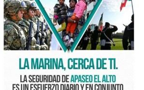 MARINA LLEGA A APASEO EL ALTO