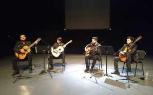 El virtuosismo del Cuarteto de Guitarras del Conservatorio de las…