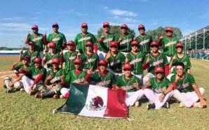 México, se coronó campeón panamericano sub 14 de beisbol