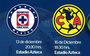 Definen horarios para la final Cruz Azul vs América