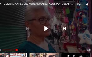 COMERCIANTES DEL MERCADO TOMASA ESTEVES, AFECTADOS POR DESBASTO DE GASOLINA