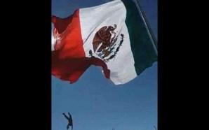 Soldado cae 7 metros, se enreda al izar la Bandera…