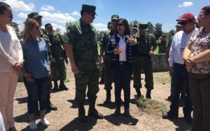 ALCALDESA BEATRIZ HERNÁNDEZ CRUZ Y SECRETARIO DE LA DEFENSA NACIONAL…