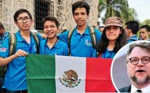 Niños que apoyará Guillermo del Toro ganaron Olimpiada Matemática