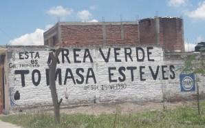 TERRENO DE LA TOMASA ESTEVES ES PROPIEDAD PRIVADA Y YA…