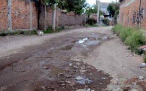 COMUNIDAD EL COECILLO: LES ENTREGAN APOYOS, PERO NO LES PAVIMENTAN…