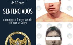 CASI 6 AÑOS DE PRISIÓN PARA ASALTANTES VIOLENTOS DE CELAYA,…