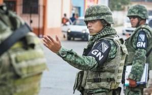 ONU PIDE A MÉXICO DESMILITARIZAR A LA GUARDIA NACIONAL