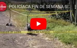 RESÚMEN POLICÍACO DEL FIN DE MES DE NOVIEMBRE