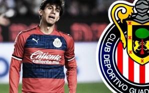 Chivas: JJ Macías se perderá el juego ante Toluca