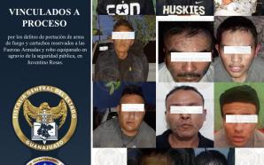 VAN A LA CÁRCEL 11 DETENIDOS POR PORTACIÓN DE ARMAS,…