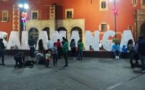EN SALAMANCA TAMBIÉN RESUENA EL PARO NACIONAL #UNDÍASIN MUJERES.