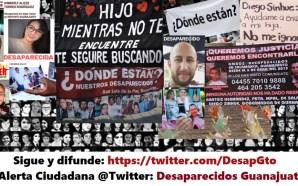 CREAN PLATAFORMA PARA LOCALIZAR DESAPARECIDOS EN GUANAJUATO