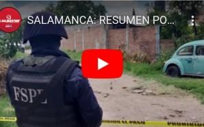 SALAMANCA: RESUMEN DE LA GUARDIA POLICÍACA ESTA SEMANA