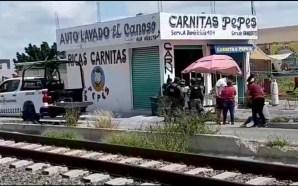 EN SALAMANCA- EJECUTAN AL PROPIETARIO DE UN NEGOCIO DE CARNITAS