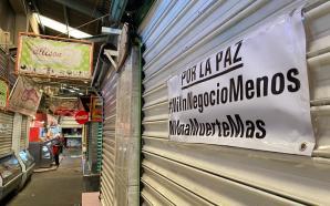 COMERCIANTES SALMANTINOS REALIZAN PARO