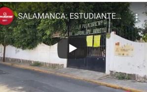 ESTUDIANTES SALMANTINOS SIN FECHA PARA REGRESAR A CLASES PRESENCIALES.