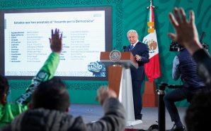 #Presidencia LÓPEZ OBRADOR CELEBRA ADHESIÓN DE 25 GOBERNADORES A ACUERDO…
