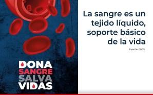 #Salud SEMANA NACIONAL DEL DONANTE DE SANGRE.